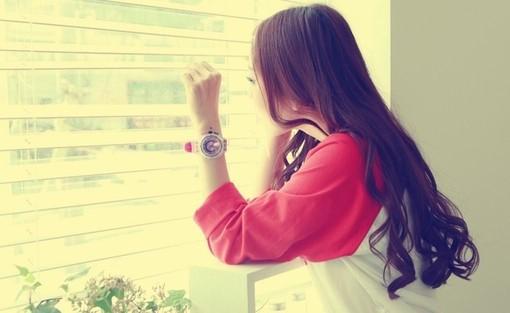 心态是经历炼出来的 高清意境女生背景唯美图片