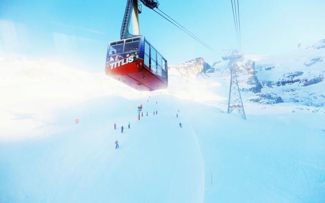 唯美的冬天意境风景图片