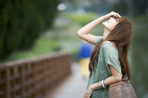 伤感寂寞女生唯美小清新女生图片大全