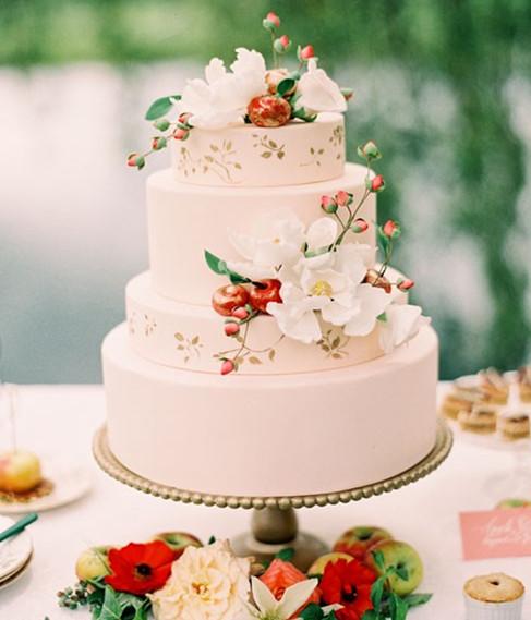 唯美浪漫的结婚蛋糕