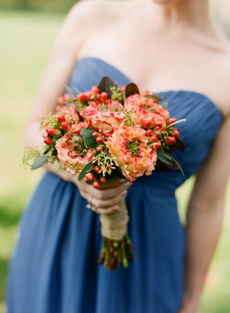 一束花的幸福   唯美清新新娘手捧花