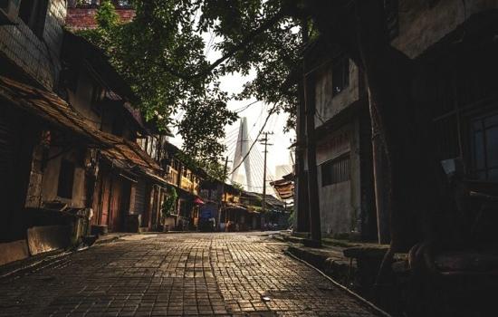 寻找记忆中的小巷_唯美意境图片