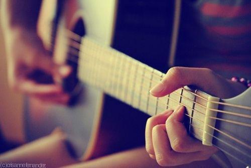 如果你也喜欢吉他就好了